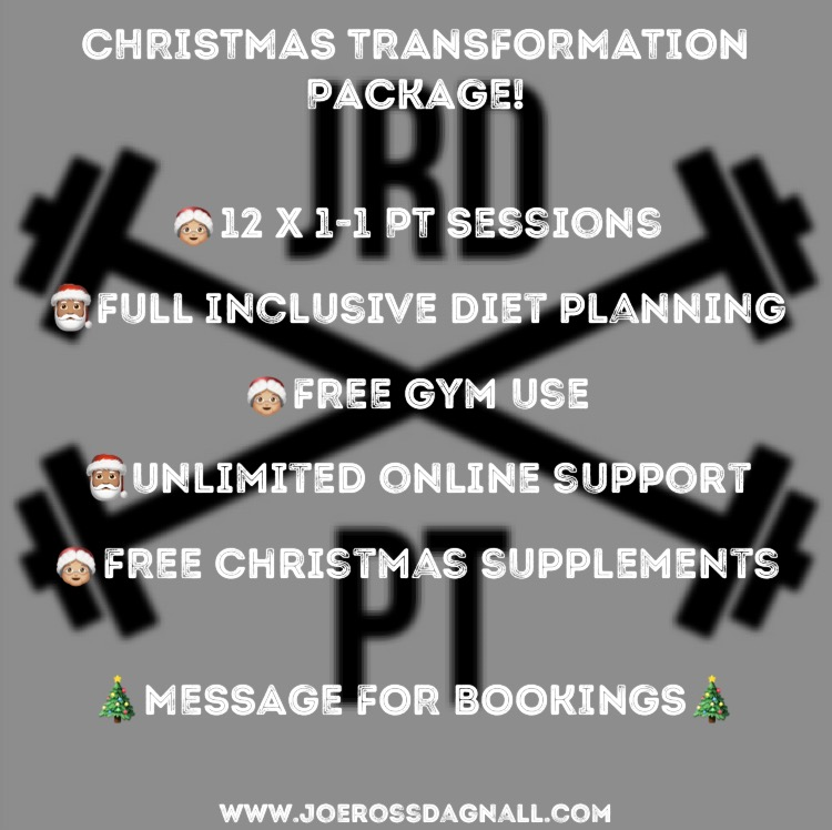 Christmas Transformation Package
