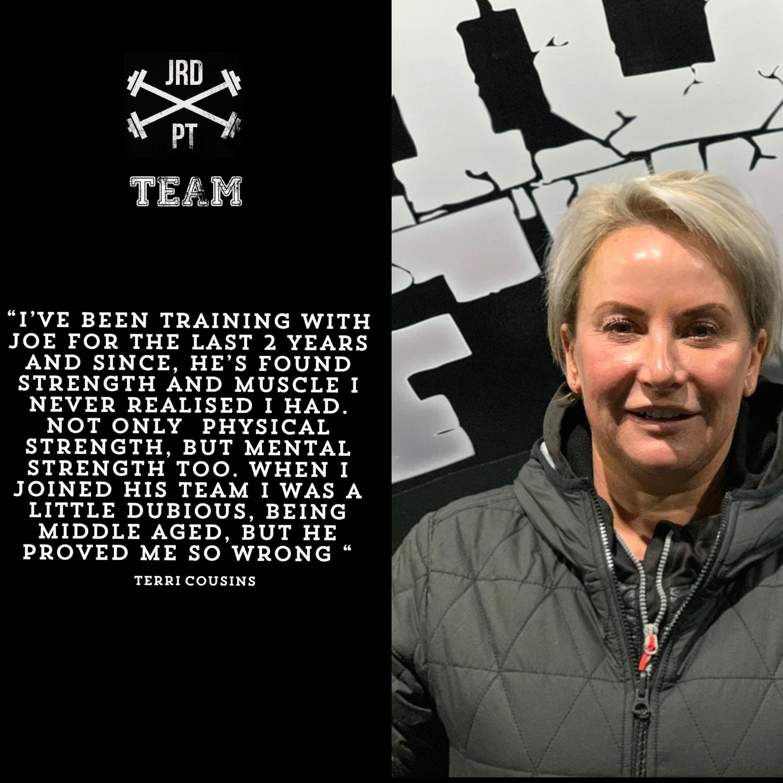 Joe Ross Dagnall Personal Trainer Sheffield